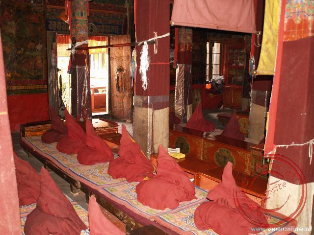 Het Mara Sarpa Monastery in Lhasa