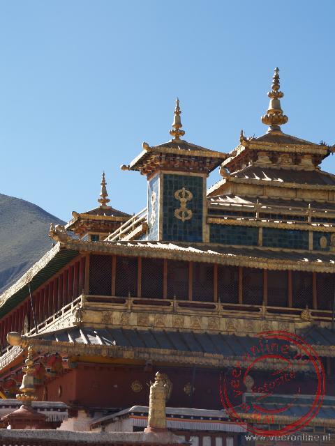 Het gerestaureerde Samye klooster