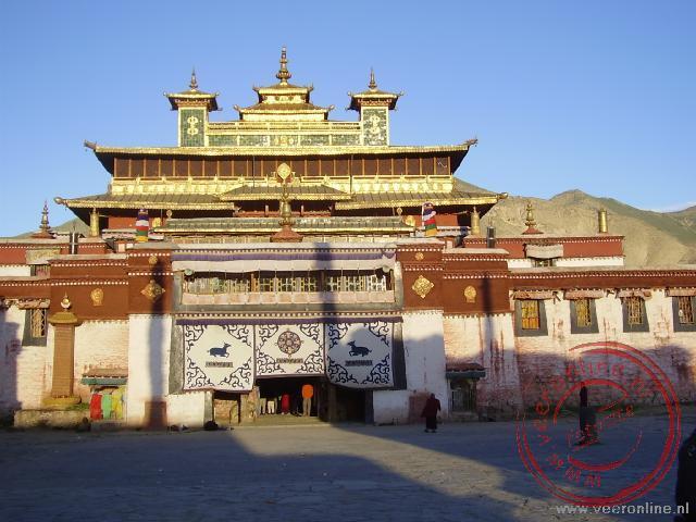 Het Samye kloostercomplex