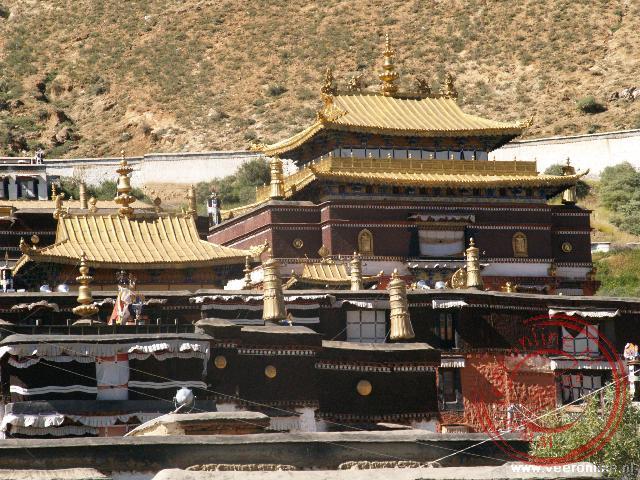 Het Tashilunpoklooster in Shigatse