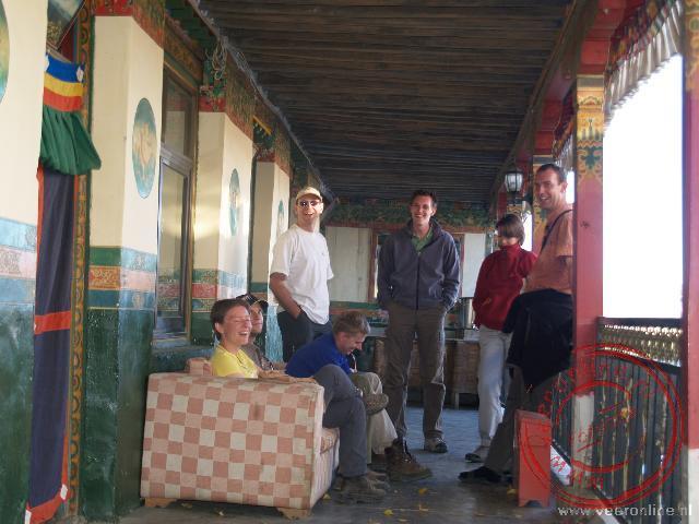 Het eenvoudige Tibetaanse guesthouse in Lhatse