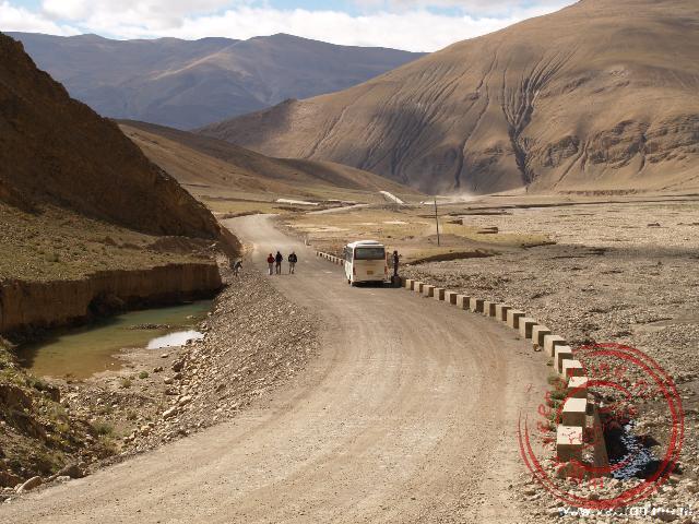 De route richting de Mount Everest