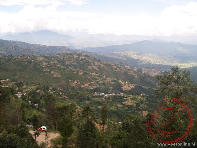 Het uitzicht vanaf Dhulikel