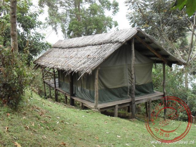 Een leuke Safari tent met uitzicht over het  Lake Bunyonyi