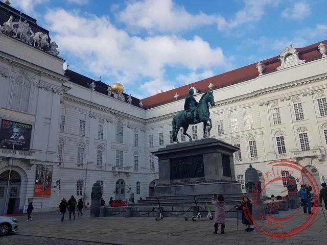 Het standbeeld van keizer Joseph II