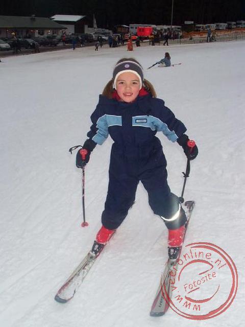 Carline op de ski s