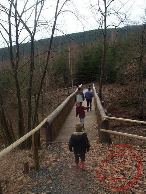 Over de brug in Schmallenberg