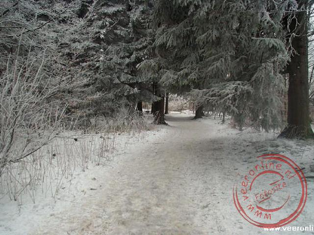 Een winters plaatje op de Kahler Asten