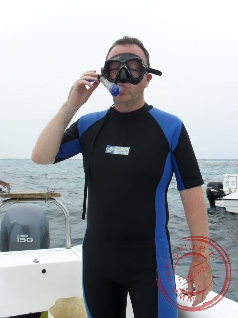 Snorkelen boven het koraal rif bij de Bazaruto Archipel