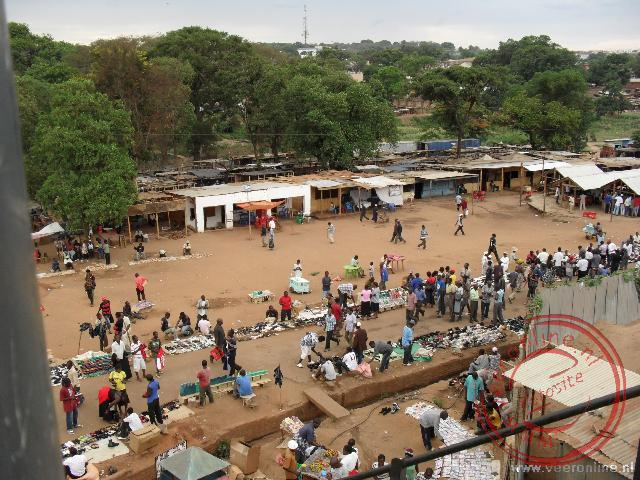 De oude stad in Lilongwe