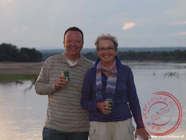 Ronald en Rita in het National Park South Luangwa