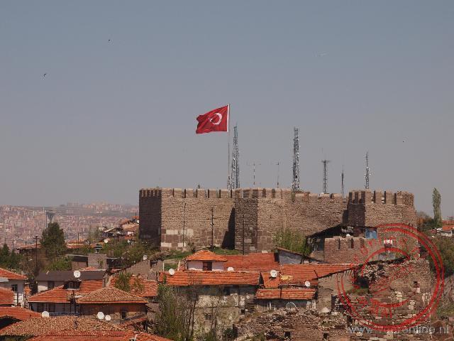 De citadel van Ankara
