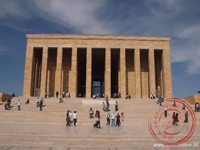 Het mausoleum van Atatürk in Ankara