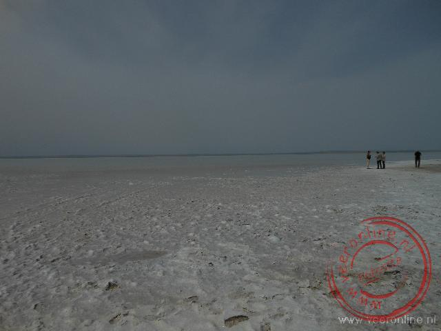 Het uitgestrekte Tuz Gölü zoutmeer