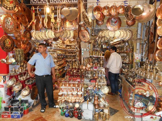Een winkeltje in Sanliurfa