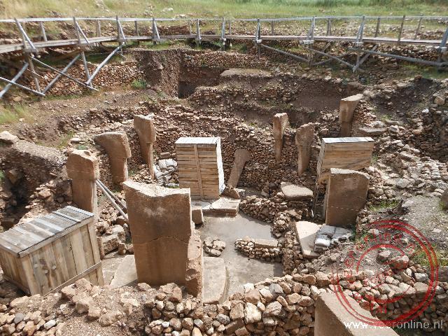 De prehistorische archeologische site Göbekli Tepe