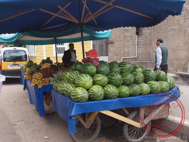 Meloenenverkoper in Diyarkabir