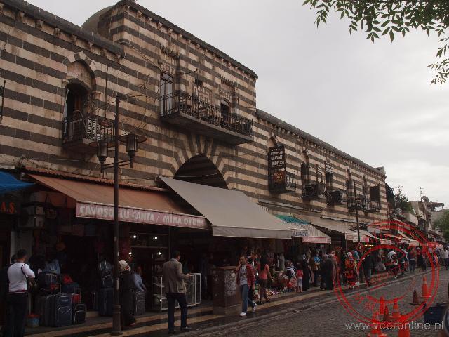 De gerestaureerde karavanserai van Diyarkabir