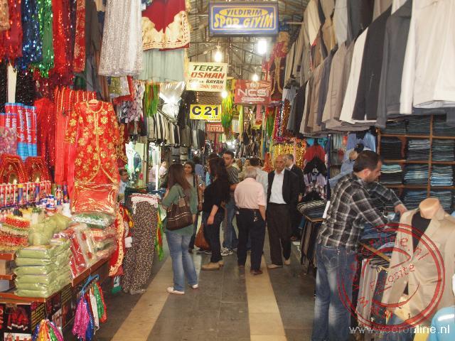 De knusse bazaar van Diyarkabir in Oost-Turkije