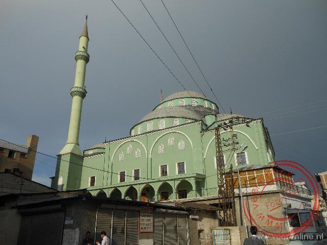 De grote moskee van Van