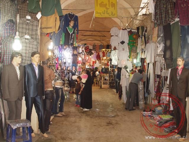 De overdekte bazaar van Esfahan