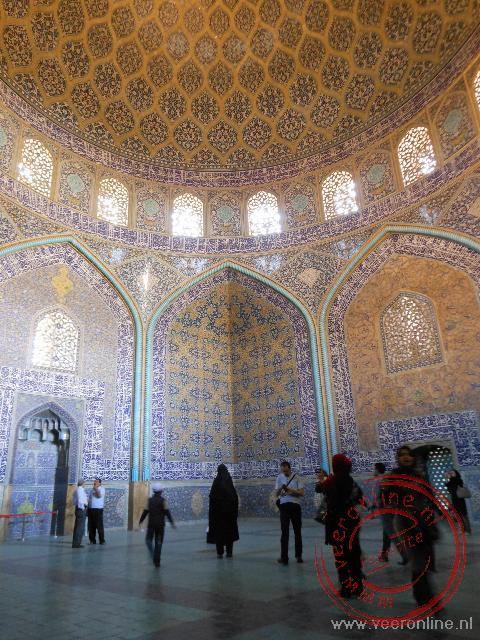 De kleine Sheikh Lotfollah moskee