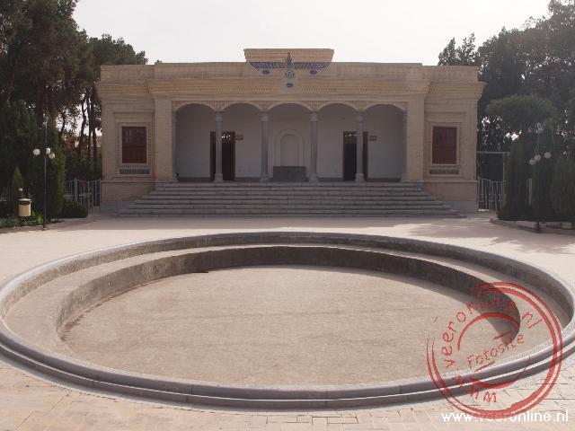 De vuurtempel van de Zoroastrians in Yazd