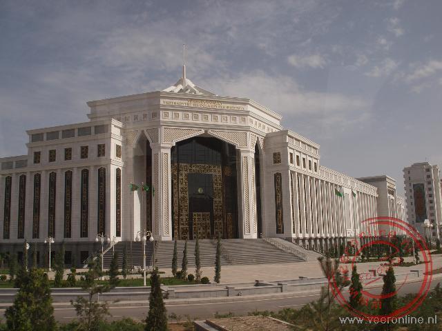 Bijzondere gebouwen in Ashgabat