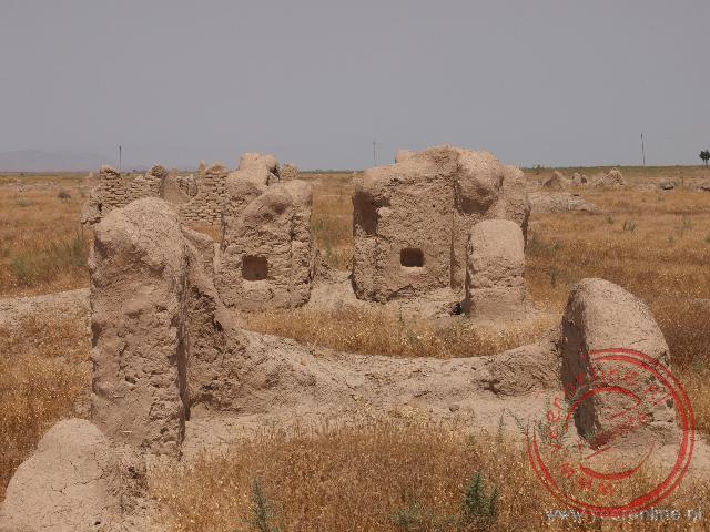 Een oude handelsplaats in Turkmenistan