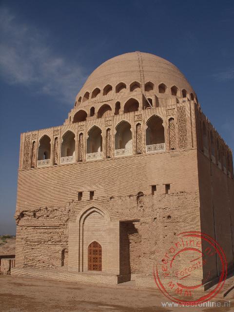 het mausoleum van Seljuk in Merv