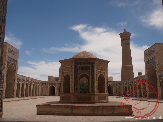 Het centrale plein van Bukhara