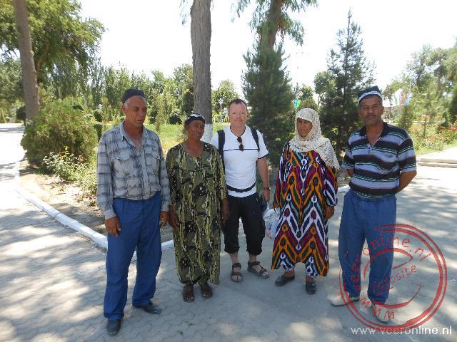 Een ontmoeting met een Oezbeeks gezin in Bukhara