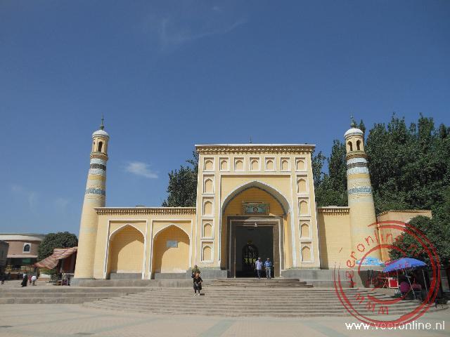 De Id Kah Moskee is de oudste en grootste moskee van China