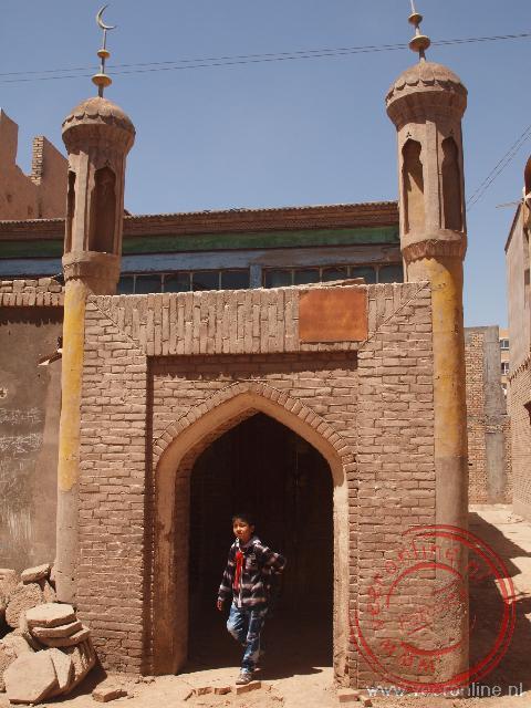 De oude stad van Kashgar