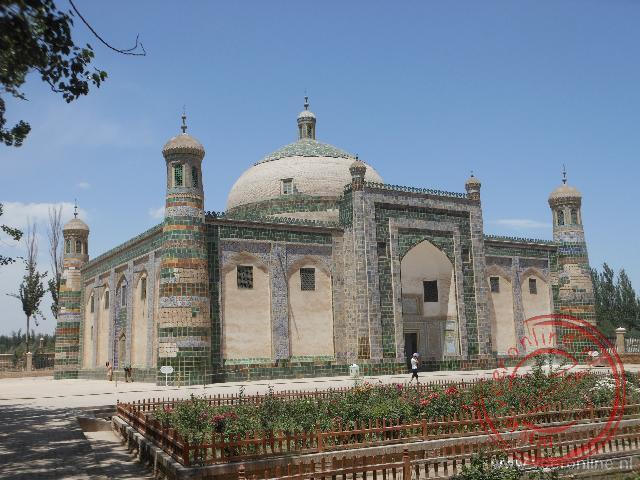 De Tombe van Abakh Khoja net buiten Kashgar