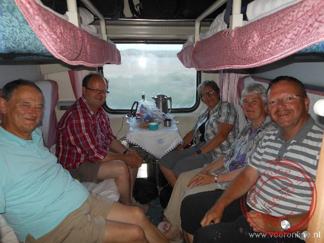 Met de trein op weg naar Turpan