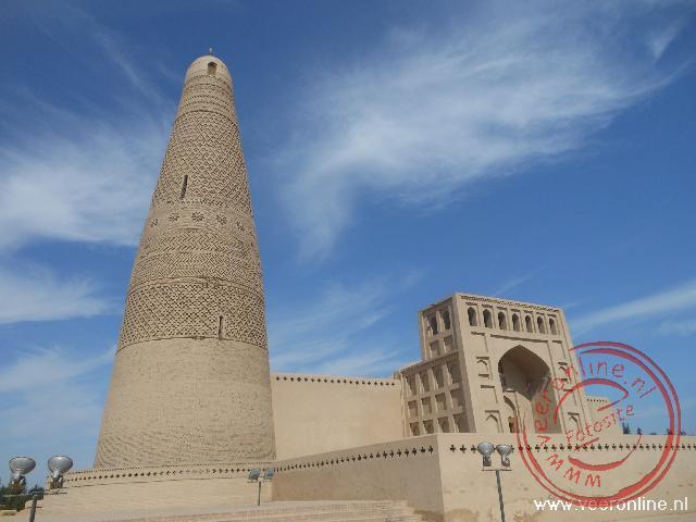 De Emin moskee is in 1777 gebouwd naar Afghaans model