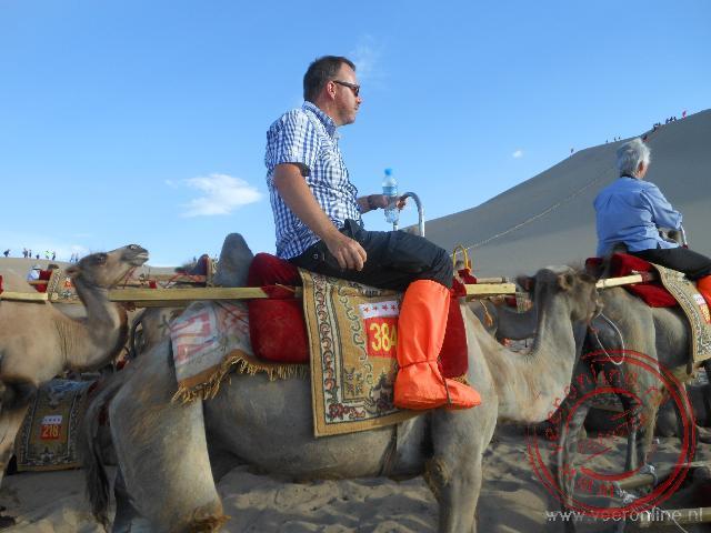 Een ritje op de kameel