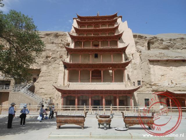 De Boeddhistische Mogao grotten