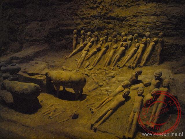 Keramieke leger in de Hanyang Tomb
