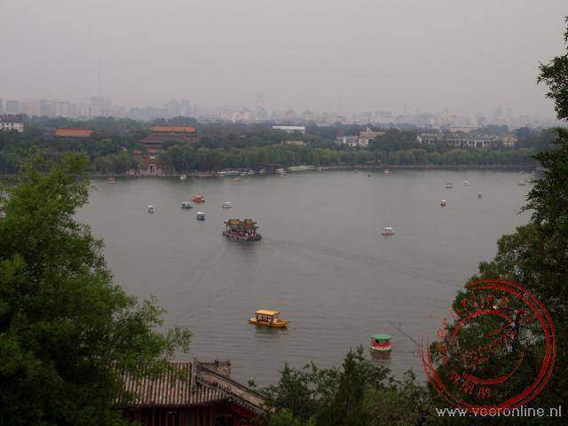 het noordelijke meer in het Beihai park