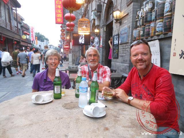 Eten in de voormalige Hutong
