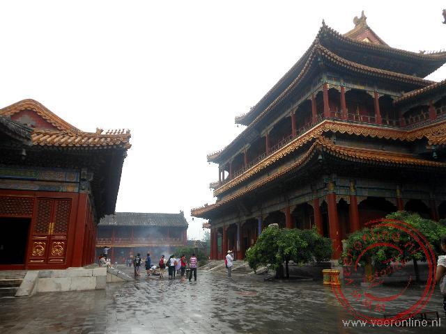 De Tibetaanse Lamatempel in Beijing