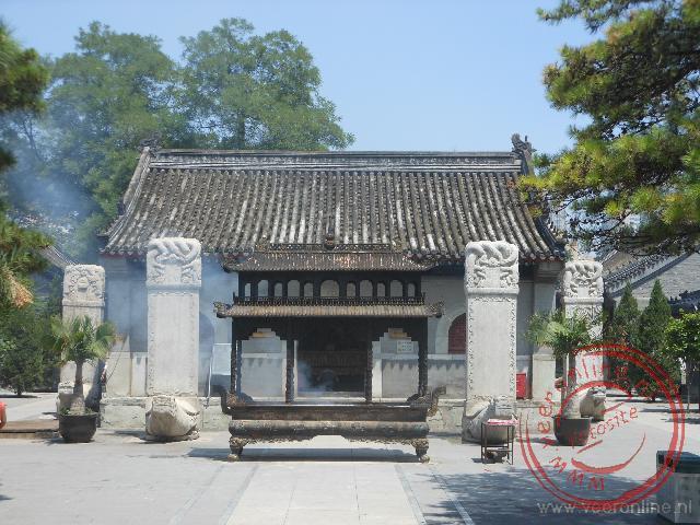De Taoïstische tempel van de Witte Wolken in Beijing