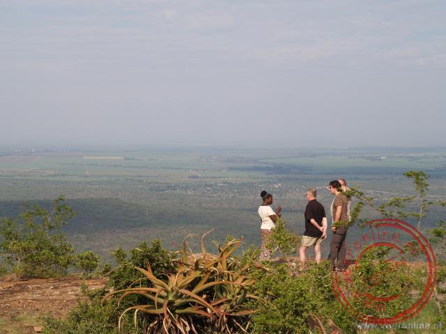 Kinderen in hun woonomgeving in Swaziland