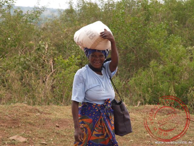 Een Swazilandse in Shewula