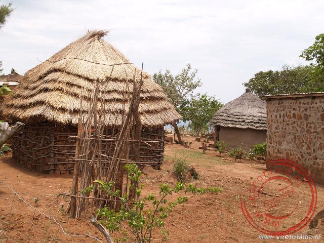 Huisjes in Shewula