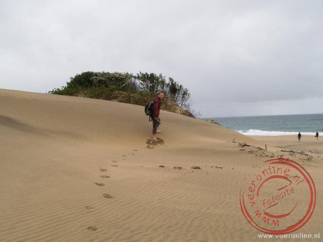 Het strand van St Lucia Wetland