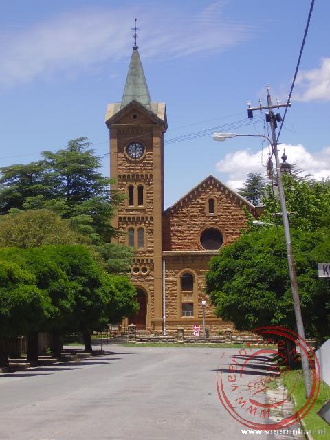 De zandstenen kerk van Fouriesburg