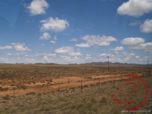 Het uitgestrekte landschap bij Malealea